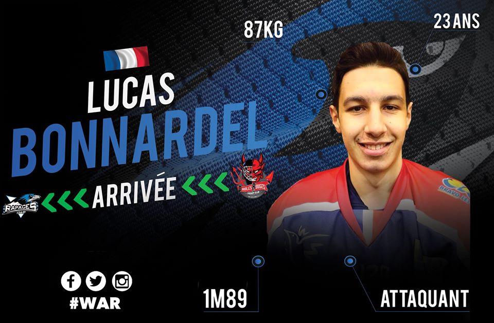 MERCATO 2020-2021 – LUCAS BONNARDEL EN BLEU